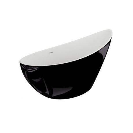 M-Acryl Paradise kád fekete 180x80